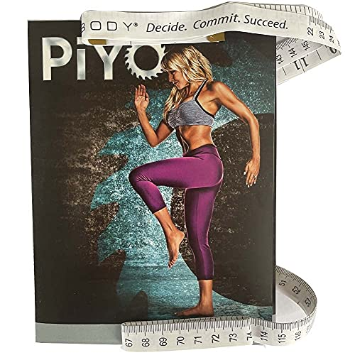 Workout dvd with Exercise Videos + Fitness Tools and Nutrition Guide-Workout DVD Base Kit Compatible with PiYo fans