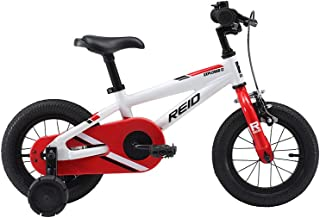 REID Boy's Explorer 12 inches Red Bike - White/Red, 90 x 30 x 15