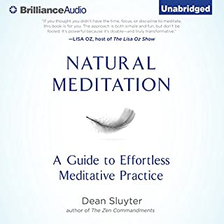 Natural Meditation audiobook cover art