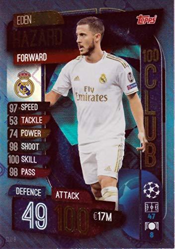 Real Madrid Adrenalyn XL Fifa 365 2020 Eden Hazard Edición Limitada Tarjeta