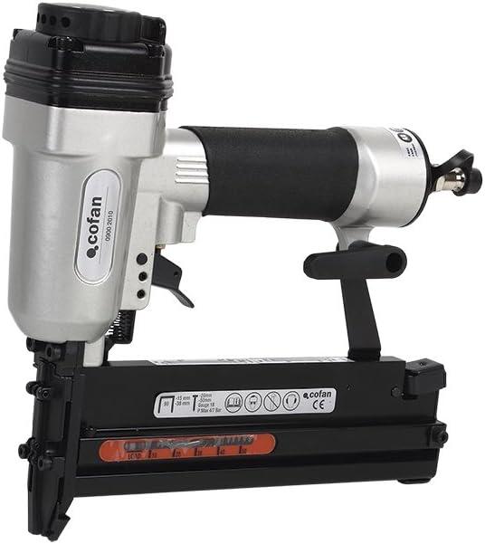 Cofan 09002010 Clavadora Grapadora neumática para Clavos