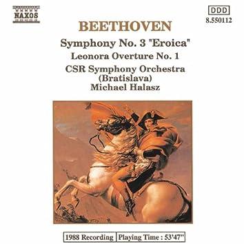 BEETHOVEN: Symphony No. 3 / Leonore Overture No. 1