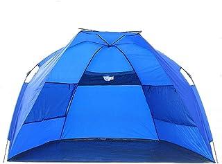DorisAA camping tält enkel inställning 1-2 personer utomhus camping tält vattentät automatisk strand solskydd skydd tak (f...