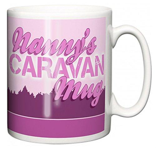 "IiE, Nanny\'s Caravan Mug \"", mit Aufschrift\"" I love my Wobble-Box, camping, Kaffee oder Tee Tasse"