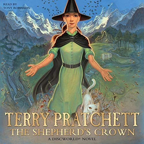 The Shepherd's Crown (Abridged) cover art