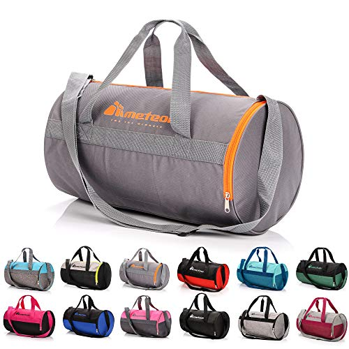 sports bag gym bag 25 L holdall shoe compartment pocket men women duffel...