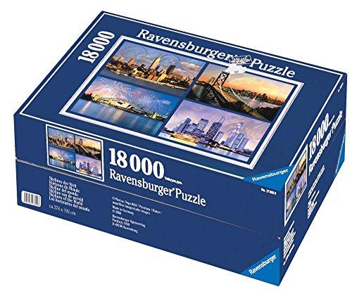 Ravensburger 17822 - Skylines der Welt, 18.000 Teile Puzzle