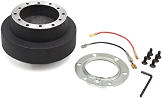 uxcell Black Auto Car Steering Wheel Quick Release Hub Boss Adapter Kit for BMW E46