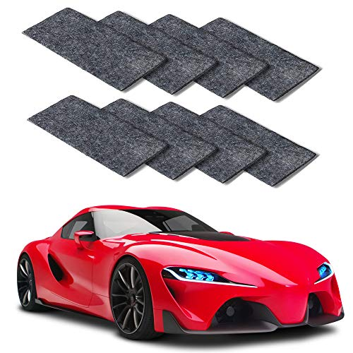MEIREN Nano Sparkle Cloth, 8PCS Nano Magic Cloth, Car Scratch Remover Cloth Car Paint Swirl Remover Polish & Paint Restorer for Car Scratches Repair Cloth