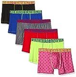 FREEGUN Lot de 6 Boxer Microfibre Slip, Multicolore (Multicolor G3), Small (Taille Fabricant:S) Homme