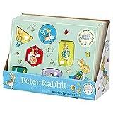Peter Rabbit PO1234 Rainbow Designs Wooden Peg Puzzle