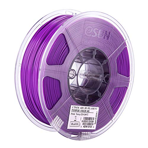ABS-Filament 1,75 mm, 3D-Druckerfilament 1kg (2,2 lb), hohes Zähigkeitsmaterial-Lila