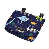付けポケット 移動ポケット 発見 探検 恐竜大陸(ネイビー) N6005300