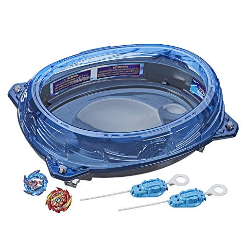 BEYBLADE Burst Surge Speedstorm Volt Knockout Battle Set – Complete Battle Game Set with Beystadium 2 Battling Top Toys and 2 Launchers