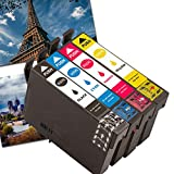 Karl Aiken - Cartucce d'inchiostro per Epson 502 XL, compatibili con Epson Workforce WF-2860DWF WF-2865DWF WF 2860 DWF WF 2865 DWF Epson Expression Home XP-5105 XP-5100 XP 5105 XP 5100