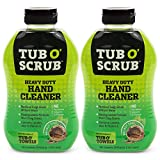 Tub O' Scrub TS18-2 Heavy Duty Pumice-Free Hand Cleaner, Removes Tough Grime & Dirt Without Water,...