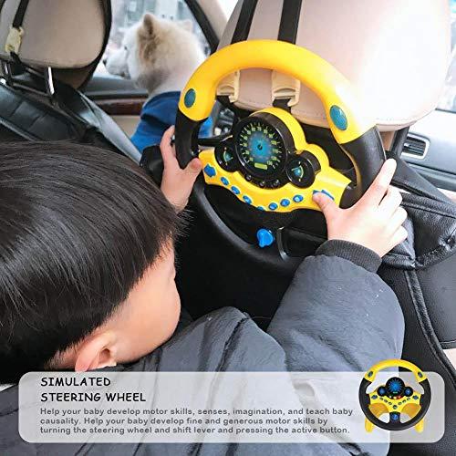 Letway | Volante Giocattolo per Bambini Simulazione Piccolo Volante per Bambini Giocattoli educativi...