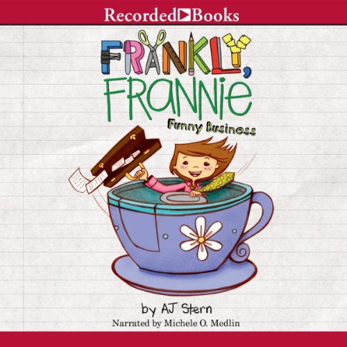 Frankly Frannie: Funny Business audiobook cover art