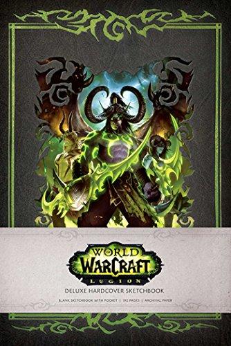 WORLD OF WARCRAFT: LEGION HARDCOVER BLANK SKETCHBOOK (Gaming, Band 1)