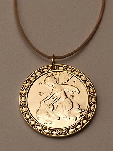 Zahnfee Münze Schatz - Gold beschichtet