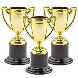 Baker Ross Trofei Dorati Perfetti da Regalare alle Feste dei Bambini per Giocarci (confezione da 6)