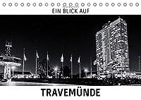 Ein Blick auf Travemuende (Tischkalender 2022 DIN A5 quer): Ein ungewohnter Blick auf Luebeck-Travemuende in harten Schwarz-Weiss-Bildern. (Monatskalender, 14 Seiten )
