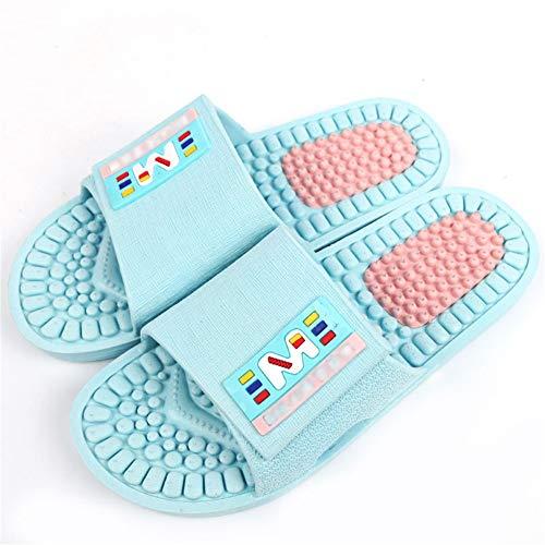 Badezimmer Massage Hausschuhe Weiblicher Weicher Boden Rutschfester Paar Kunststoff Flach Schuhe Pediküre Zu Hause Sandalen