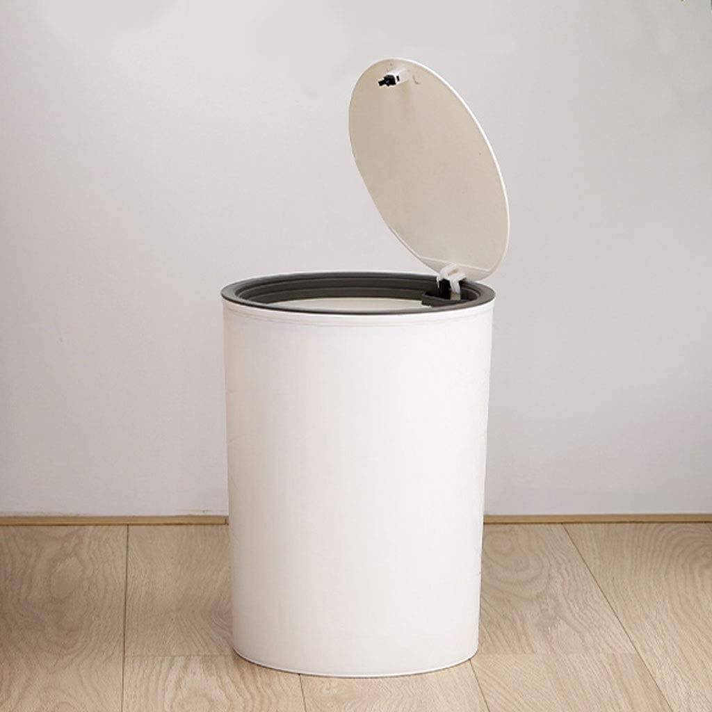 OMING Step Max 41% OFF Trash Can Round P All stores are sold Plastic Wastebasket Small