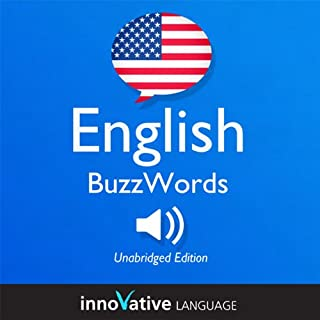 Couverture de Learn English: BuzzWords English, Lessons 1-25