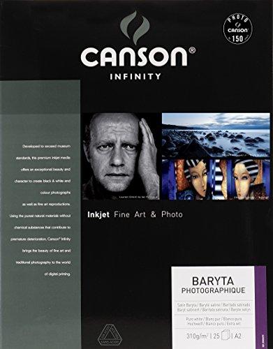 Canson CS70139 Baryta Photographique Box, Photopapier, A2