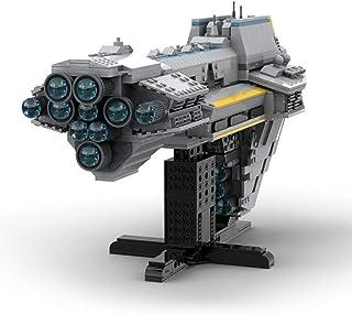 2094 PCS Building Block Compatible with Lego Starhawk Battleship, Puzzle Toy Technic Super Racing RC Car Kit, Bricks Toy f...