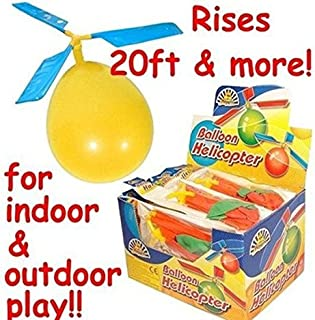Sungpunet 12 Pack Kids Balloon Helicopter