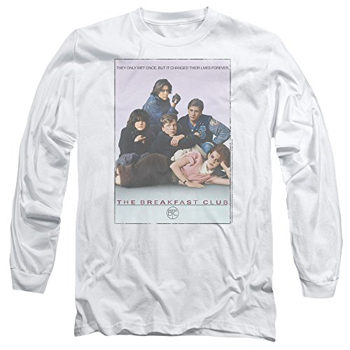 Unisex Breakfast Club Poster Long Sleeve T-shirt, S to 3XL