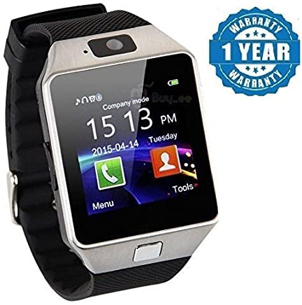NALMAK DZ09 Compatible Certified Bluetooth Smart Watch Phone with Sim Card Support (Colour May Vary)