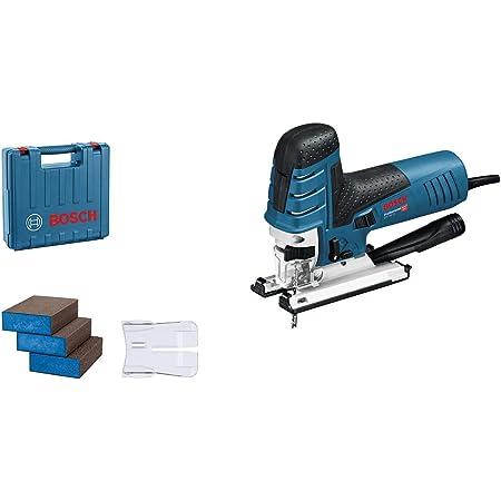 Bosch Professional GST 150 CE (case, 1x balde, dust cover + adapter, plastic shoe, splintering guard, 3 sponges)