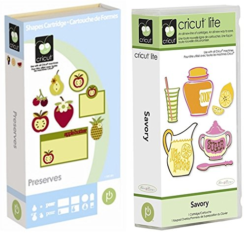 Cricut Cartridge Bundle: Preserves and Savory
