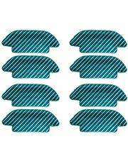 De Galen Repuesto de 8 piezas de repuesto para mopa de aspiradora Cecotec Conga 4090 trapeador de trapo, almohadillas de limpieza, piezas de repuesto para accesorios de vacío