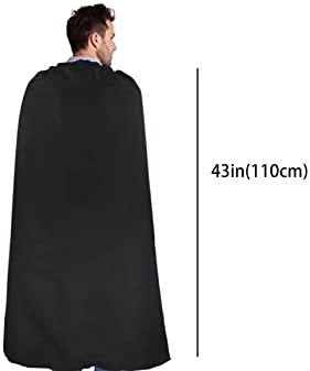 D.Q.Z Superhero Capes for Adults Bulk with Masks Halloween Dress Up Costume Party Supplies, 7 Pack