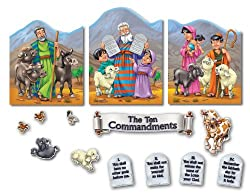 Carson Dellosa Christian Ten Commandments Bulletin Board Set