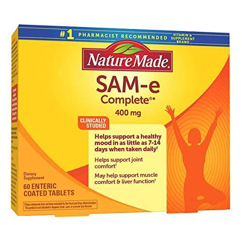 Evaxo SAM-e Complete 400 mg, 60 Tablets 400 mg. of SAM-e Per Dose...