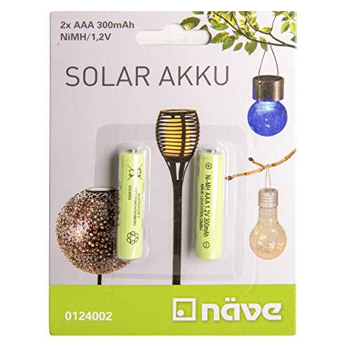 Näve - Pilas AAA (NiMh, 1,2 V, 300 mAh, 2 unidades)