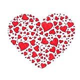 1/3 plantillas para hornear DIY con forma de corazón y flores, suministros de boda, plantillas para tartas y fondant, herramientas de decoración de pasteles (3 unidades)