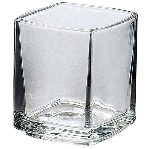 グラス コップ : ラ・ロシェール キューブ ショートタンブラー 100cc 613301 5.6x5.6xh6.7cm/6入 YA