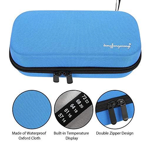 EVA Insulin-Kühltasche für Diabetiker mit Temperaturanzeige, tragbare Kühltasche für Reisen