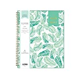 Day Designer for Blue Sky 2020-2021 Academic Year Weekly & Monthly Planner, Flexible Cover, Twin-Wire Binding, 8.5' x 11', Palms