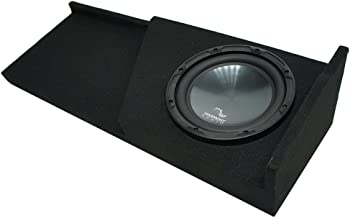 Compatible with 2007-2013 GMC Sierra Extended Cab Truck Harmony R124 Single 12 Sub Box Enclosure