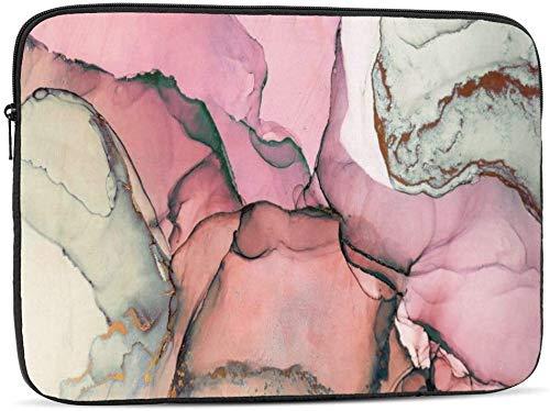 BONRI Funda para portátil con pintura abstracta en color compatible con estuche para ordenador portátil de 10-17 pulgadas, estuche para ordenador portátil, pintura abstracta en color, 10 pulgadas
