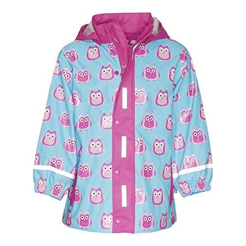 Gallux Regenbekleidung Playshoes 408599 Kinder Regenmantel Mädchen Eulen