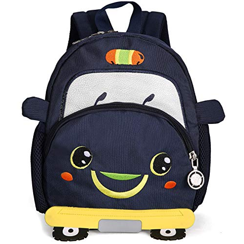 Cartoon Small Cars Infant Backpack Safety Harness Toddler...
