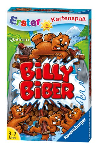 Ravensburger 20434 - Billy Biber Quartett Kinderkarten